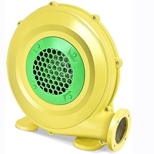 HYGLPXD 480W Windmaschine Lüfter Elektrisch Für Aufblasbare Spielzeuge Gebläse Luftpumpe Druckventilator Luftgebläse Hüpfburg