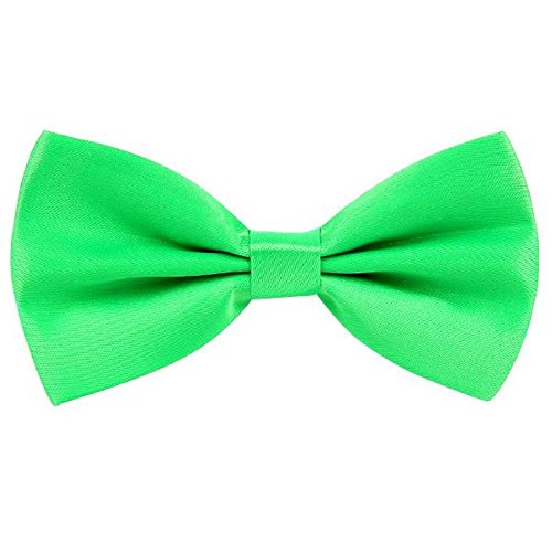 AllRight Noeud Papillon Homme Cravate Lavallière Noeud Papillon Mariage Vert