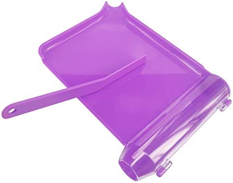 Left Hand Pill Counter Tray with Spatula Purple product image