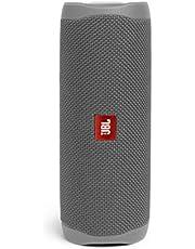 JBL Flip 5 draagbare Bluetooth-luidspreker met oplaadbare batterij, waterdicht, compatibel met PartyBoost, grijs