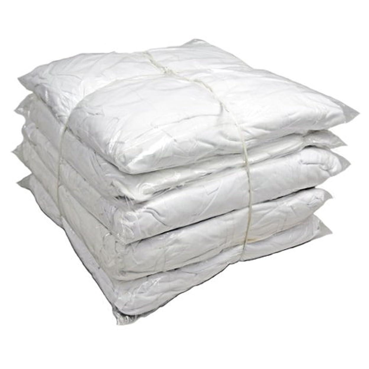 ビリーマーガレットミッチェル充実白メリヤスウエス ( 新品生地 ) 縫目有 10kg / 箱 [ 2kg × 5袋 ]