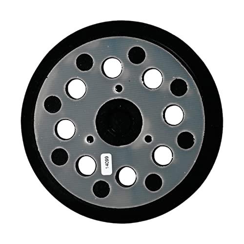 MAKITA 743081-8 743081-8-Plato de Velcro de 125 mm para BO5030-31-40-41, 0 V, Negro