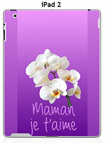 ONOZO Designer Case for iPad 2 Mother I Love You Orchidees