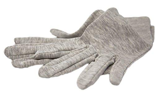 Gants apaisants – Femme – Taille Unique - Coton/Argent antibactérien – Made In France