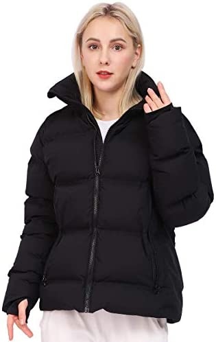 Thickened Down Jacket for Women Super Warm Winter Puffer Jacket Hooded Snow Coat 800 Fill Power product image