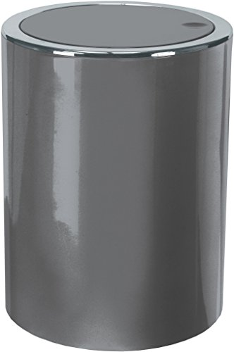Kleine Wolke Kosmetikeimer Clap, ABS, Grau, 19x19x25