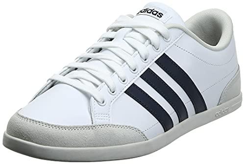 adidas Herren Caflaire Sneaker, Cloud White/Legend Ink/Raw White, 43 1/3 EU