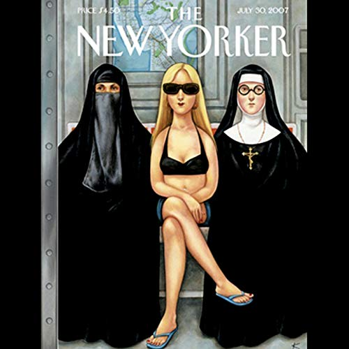 The New Yorker (July 30, 2007) copertina