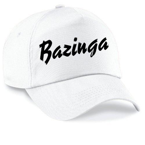 Casquette Baseball Sheldon Bazinga Film Style Casquette Capy Taille Unisexe Beaucoup de Couleurs - Blanc, Unisex