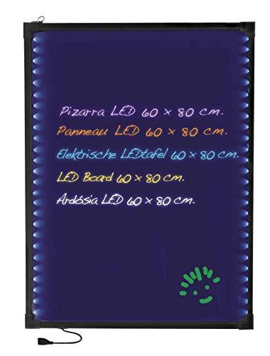 Lacor 39160 - Pizarra eléctrica LED