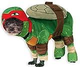 Rubie'S 887723M Disfraz Oficial de Raphael Teenage Mutant Ninja Turtles Pet Dog, tamaño Mediano