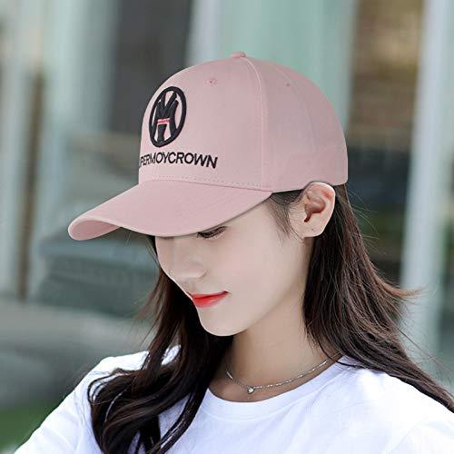 Sombrero de Verano Gorra de béisbol Femenina Moda Coreana Masculina Sombrero de Sol Protector Solar Salvaje de Moda