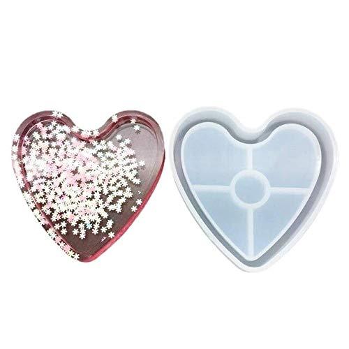 ADSIKOOJF DIY bakvorm gemaakt van siliconen, kristal, epoxyhars, vierkant, basis kop, coaster, liefde, hanger, tafelkleden, koffiekopje, kopje, huis, keuken, decoratie