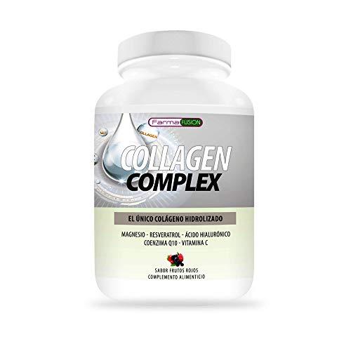 Colágeno Hidrolizado con Ácido Hialurónico, Magnesio, Coenzima Q10, Resveratrol y Vitamina C  ...
