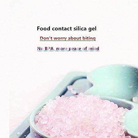Juego de platos de bamb/ú para beb/és y cuencos para beb/és set de platos y cuencos para beb/és platos para beb/és y platos de beb/é platos con base sin BPA cerezo en rosa TJ Dolphin