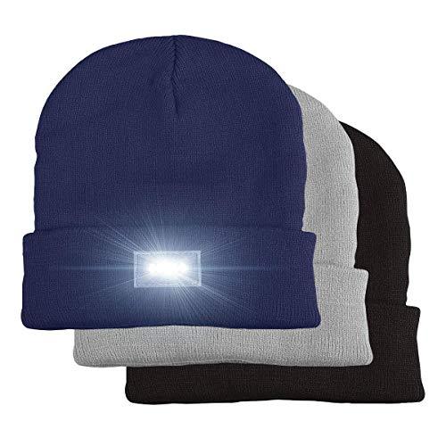 5 LED Beanie Gorra, LED Sombrero Beanie, LED Gorro