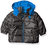 iXtreme Baby Boys' Ripstop Puffer, RED, 12M