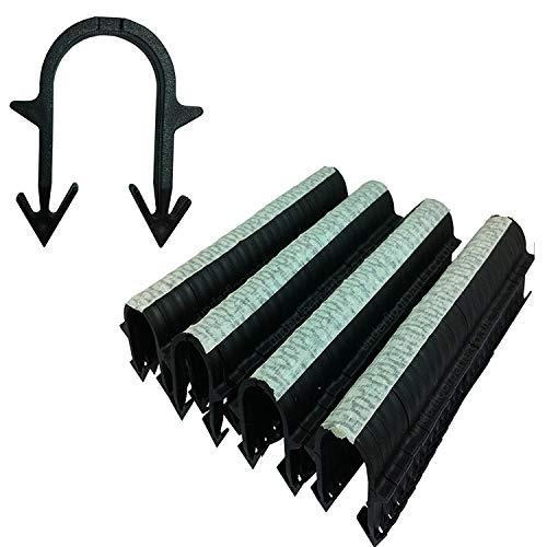 40 mm Unterboden-Heating Rohrklammern Tacker Clips für Ø 156J20 Rohr-Packung von 300 – Klammern