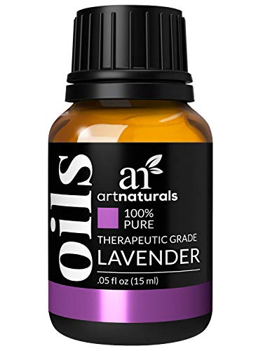 ArtNaturals 100% Pure Lavender Essential Oil - (.5 Fl Oz / 15ml) - Premium Undiluted Therapeutic Grade Natural from Bulgaria - Aromatherapy for Diffuser, Sleep, Relaxation, Skin and Hair Growth