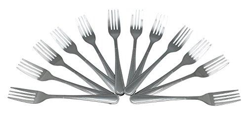 Wee's Beyond Dinner Fork, 12 Pack, Stainless Steel