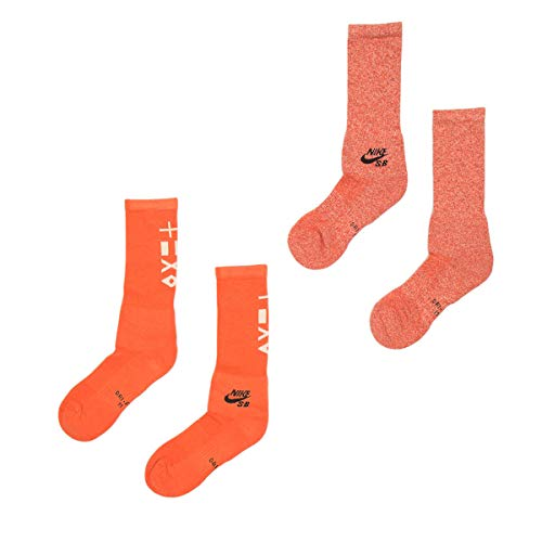 Nike SB SX6855-902 SOCKS Orange Talla L