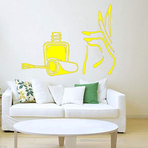 Zaosan Salon wandaufkleber wandaufkleber Vinyl Applique nagellack wasserdicht Aufkleber abnehmbare Aufkleber wandkunst