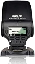 MeiKe MK-320 TTL LCD Mini Hot Shoe Flash Speedlight For Sony Mi A7II A58 A7RII A7S NEX-6 A6000 DSRL Cameras