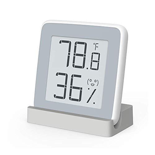 Homidy Hygrometer digital innen Thermo Hygrometer mit Schweizer hochpräzise Sensirion Digitalsensoren,2018 reddot Award Winner,Thermometer innen für Innenraum