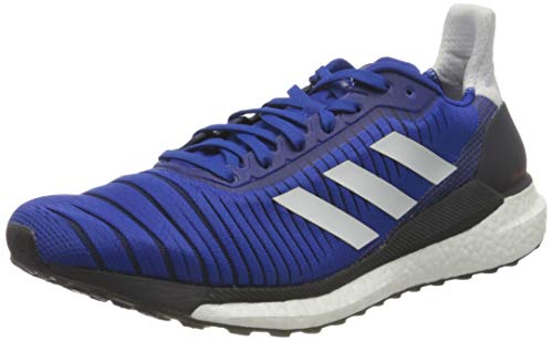 adidas Herren Glide 19 M Laufschuhe, Blau (Team Royal Blue/Dash Grey/Solar Red), 42 EU