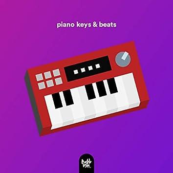 piano keys and beats