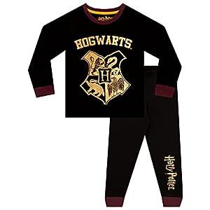 HARRY POTTER Pijamas para Niños Negro 1