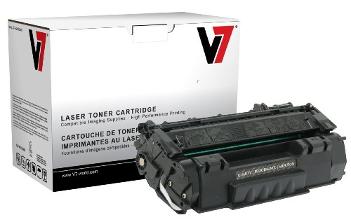 V7 THK25949JX Remanufactured Extended Yield Toner Cartridge for HP Q5949X (HP 49X) - 6000 Page Yield