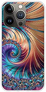 Etui na Apple iPhone 13 Pro - etui na telefon Fantastic Case - fraktal - guma case obudowa silikonowa wzory