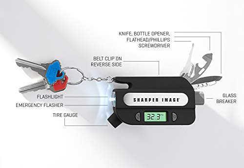 Sharper Image 8-in-1 Emergency Auto Tool