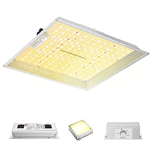LED Grow Light, VIPARSPECTRA PAR1500 LED Grow Light 3x3ft with Samsung LEDs (Includes IR) & MeanWell Driver, Dimmable Full Spectrum Grow Lights for Hydroponic Indoor Plants Veg and Flower 490 LEDs