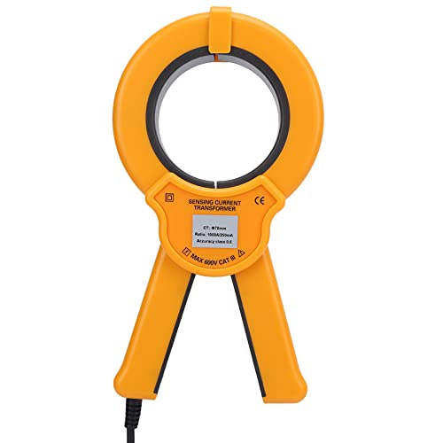 Transformador De Corriente De Pinza, Tipo R Sensor De Corriente De CA De Pinza Se Pueden Conectar Varios Analizadores Varias Interfaces De Salida Para Dispositivos De Control Industrial