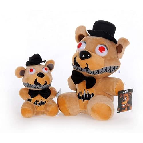 Vijf nachten in Fredis pluche speelgoed rijst bruin beer, Fredi pluche gevuld met kid geschenk pop