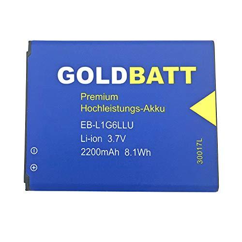 Goldbatt Akku für Samsung Galaxy S3 I9300 GTi9300 S3 GT-i9300 GTi9305 LTE i939 i9300 Smartphone EB-L1G6LLU Premium Hochleistungs-Akku Hochleistung I9308 S 3 GT-i9305 Smartphone Handy ersatzakku