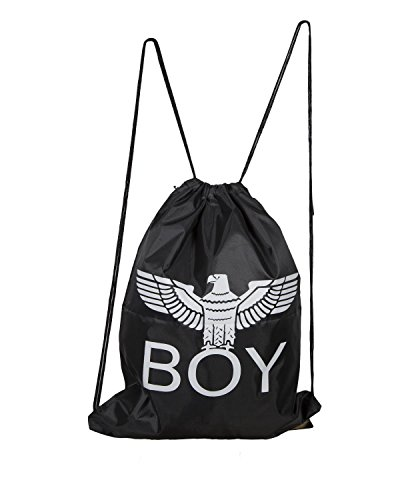 Boy London BLA702 - Bolsa de transporte con logotipo de Londres, color negro