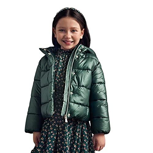 Chaqueta de plumón para niña ABEL Y LULA Mayoral 5851 52 verde original AI 2022, Verde, 10 años