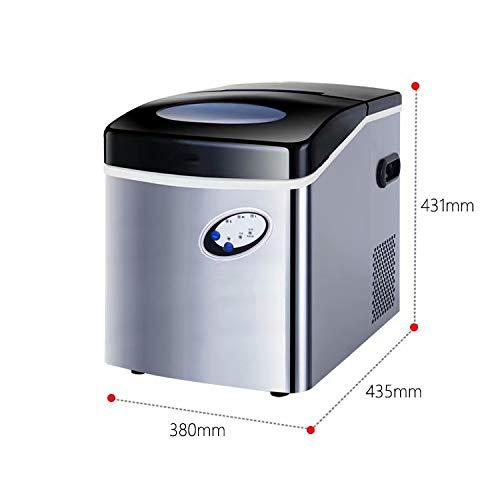 HSTFⓇ Eismaschine Counter Top Eismaschine   Produziert Eiswürfel in Under6-12Mins   Keine Klempnerarbeiten erforderlich 5L Tank   Kompakt und tragbar