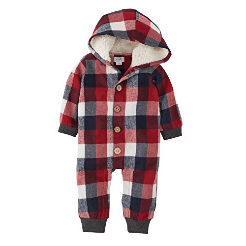 Mud Pie Baby Boys' Classic, RED, 3-6 Months