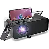 Kecag 5000 Lux-Lumens Native 720P Movie Projector