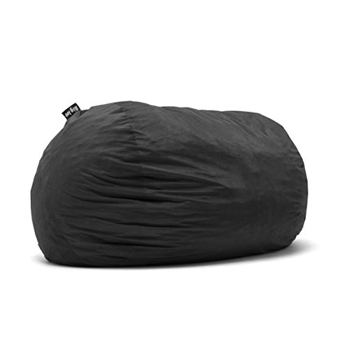 Big Joe Fuf Foam Filled Bean Bag, Extra Extra Large, Espresso Comfort Suede