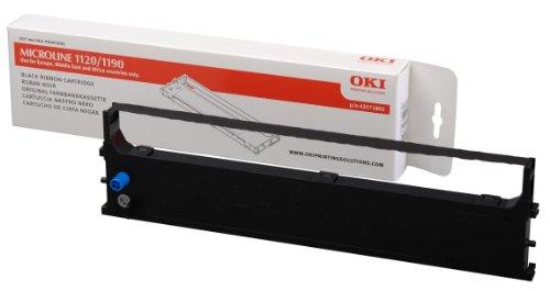 OKI Farbbandkassette für ML1190/ML1191 Nadeldrucker Schwarz