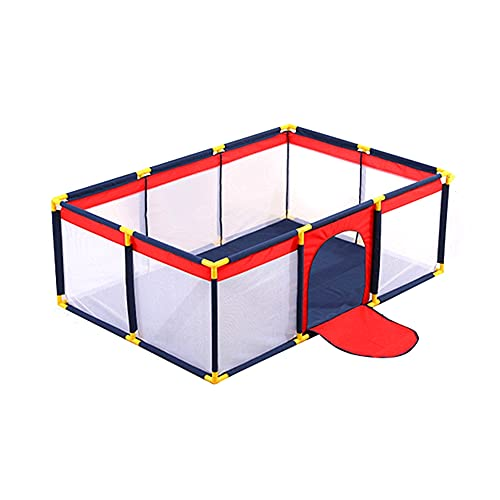 YYIJ Baby Playpen Extra Large Playard Indoor & Outdoor Kids Activity Center Sturdy Safety Play Yard with Breathable Mesh,Kids Fence for Infants Toddlers