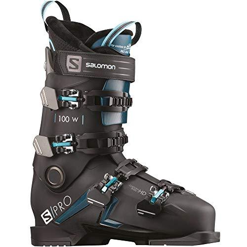 SALOMON S/Pro 100 W Damen-Skischuhe L408757 Black/Blue/Scuba Gr. 24/24.5