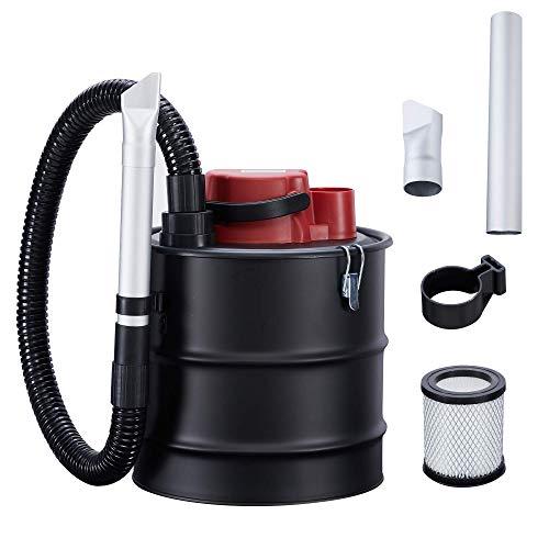 Arebos Aspirador de Cenizas Eco | Incl. Filtro HEPA | 15L