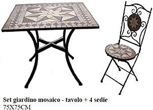 Amazon.es: juego mesa y sillas jardin