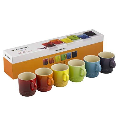 Set de 6 Canecas de Espresso, Le Creuset, 91038700, Colorido